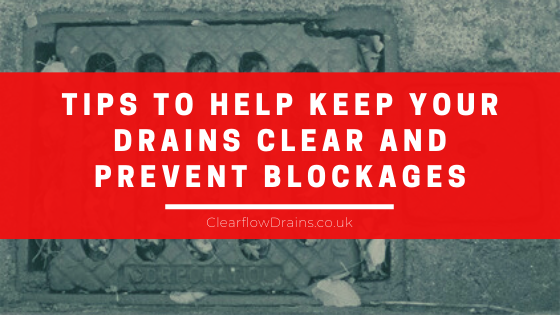 tips to keep drains clear and prevent blockages