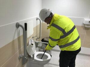 toilet unblocking services