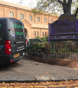 Unblocking Drains at Cadbury, Birmingham