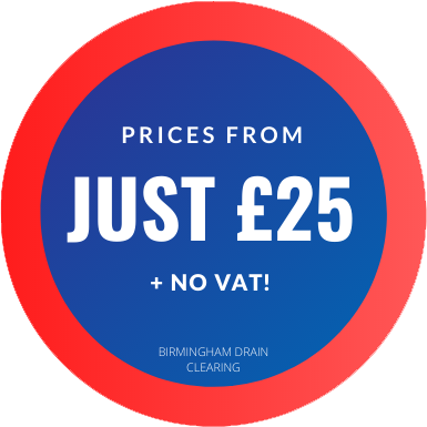 drain unblocking from £25